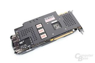 Zotac GeForce GTX 980 Extreme – Rückseite