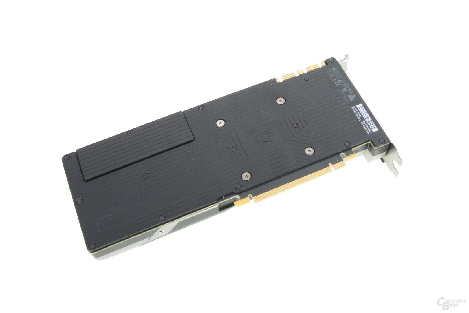Nvidia GeForce GTX 980 – Rückseite