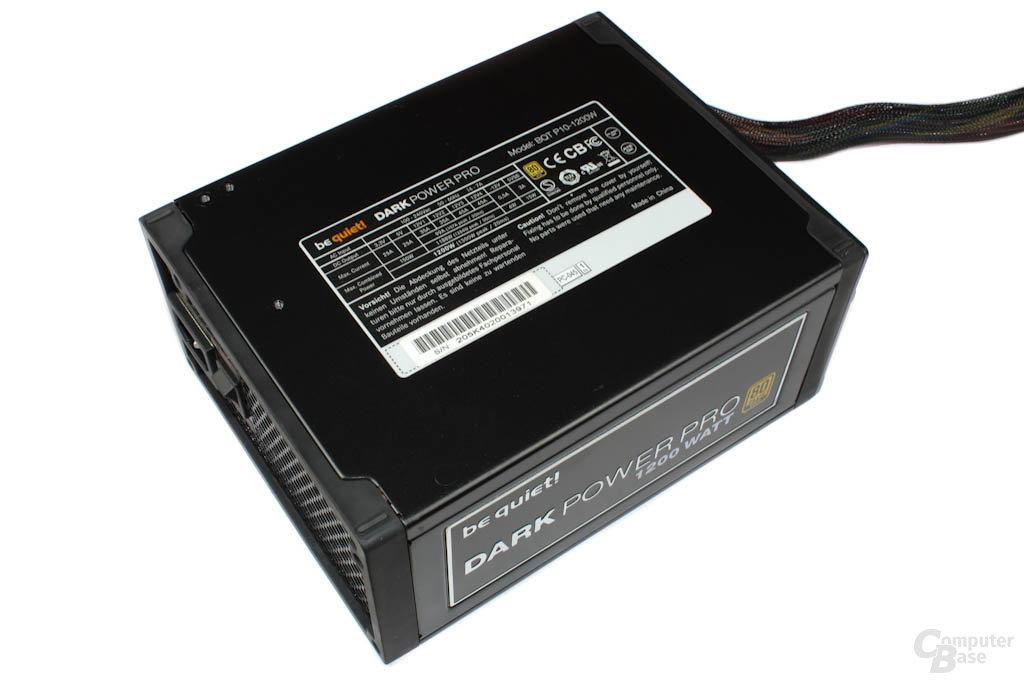 be quiet! Dark Power Pro P10 1200W Deckel mit Datenblatt