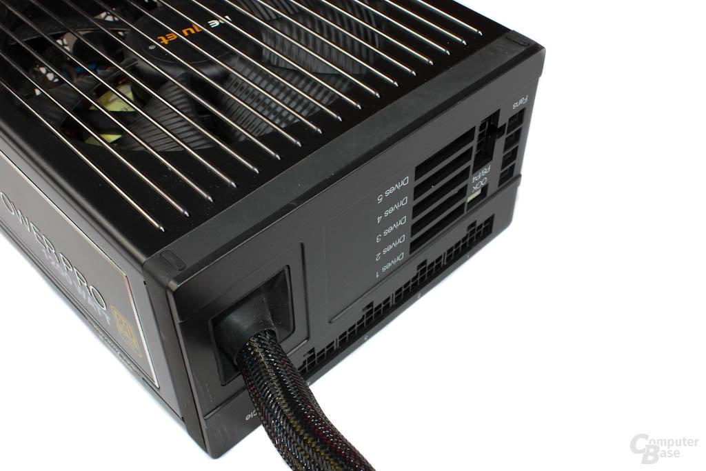 be quiet! Dark Power Pro P10 1200W – Anschlüsse