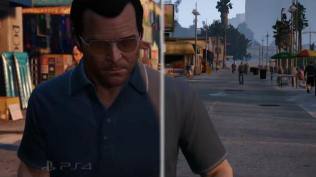GTA V: Grafikvergleich zwischen PlayStation 3 und 4