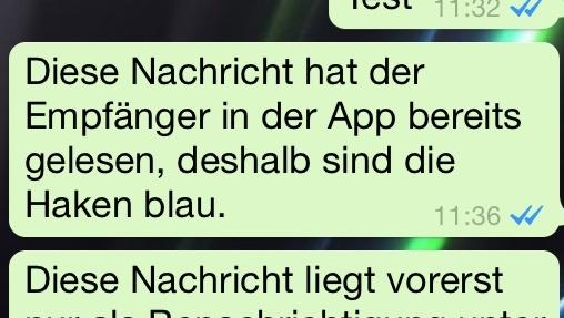 Zwei blaue Haken: WhatsApp erschwert das Versteckspielen
