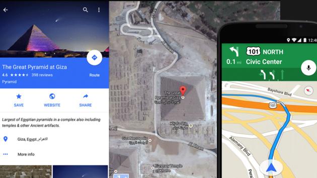 Google Maps: Karten-App mit Material Design und neuen Funktionen