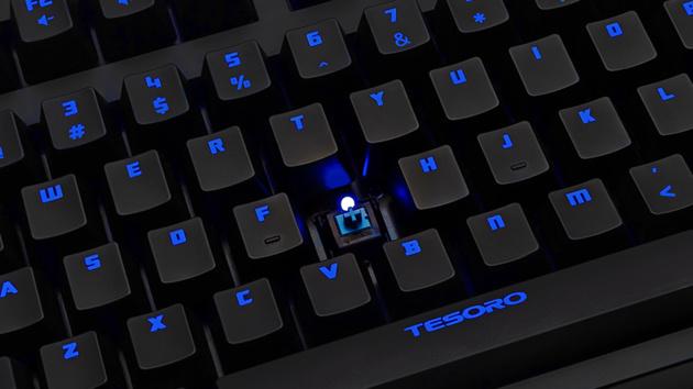 Tesoro Excalibur RGB: Tastatur mit Hintergrundbeleuchtung nach Wahl