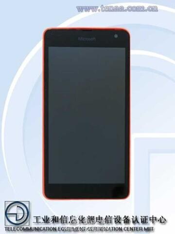 Microsoft Lumia – Front