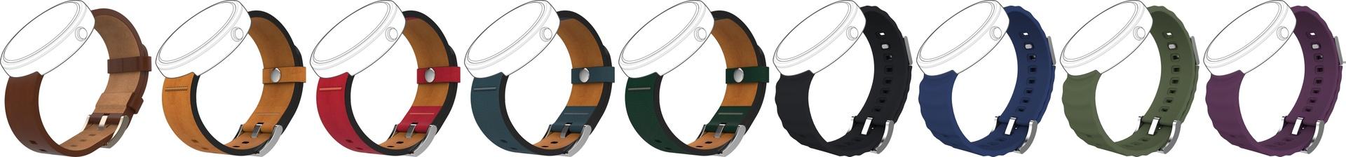 Neue Armbänder aus Leder und Silikon von DODOcase und TYLT