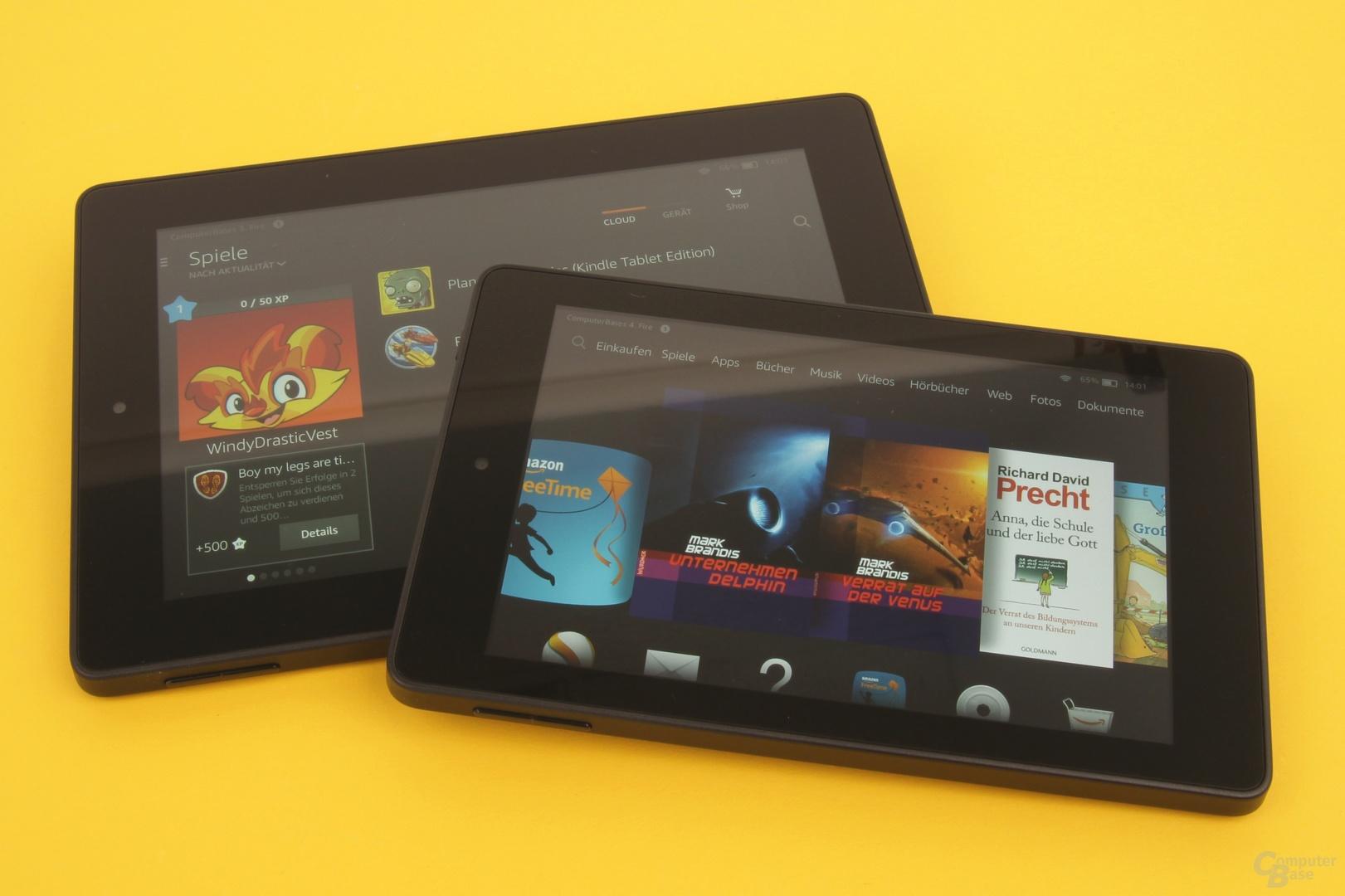 Amazon Fire HD 6 und HD 7 im Test