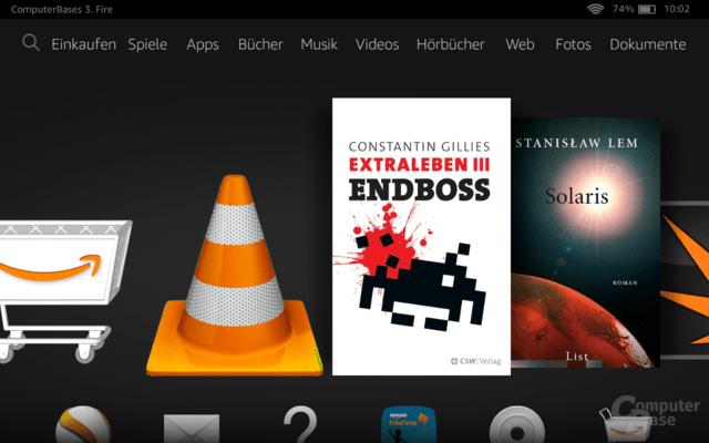 Fire OS auf Fire HD 6 und HD 7