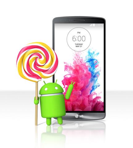 Das G3 erhält Android 5.0 in Polen noch diese Woche