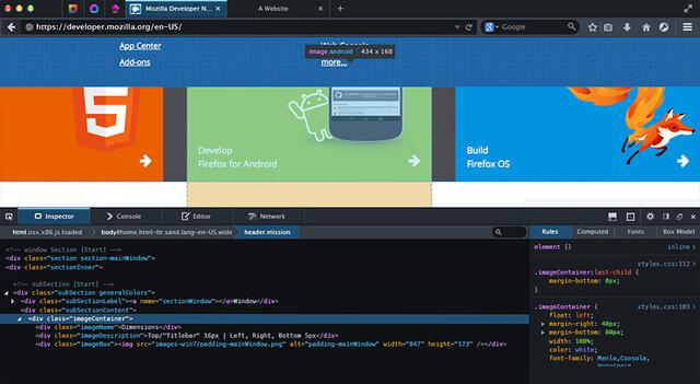 Firefox für Entwickler