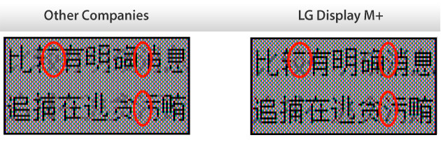 Diagonalen sollen kräftiger dargestellt werden