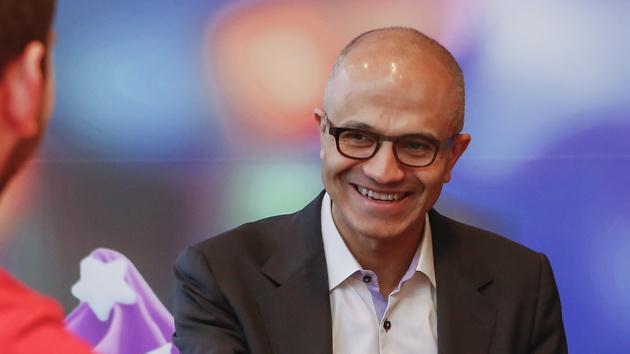 """Satya Nadella in Berlin: """"Der Nutzen für den Kunden steht im Mittelpunkt"""""""