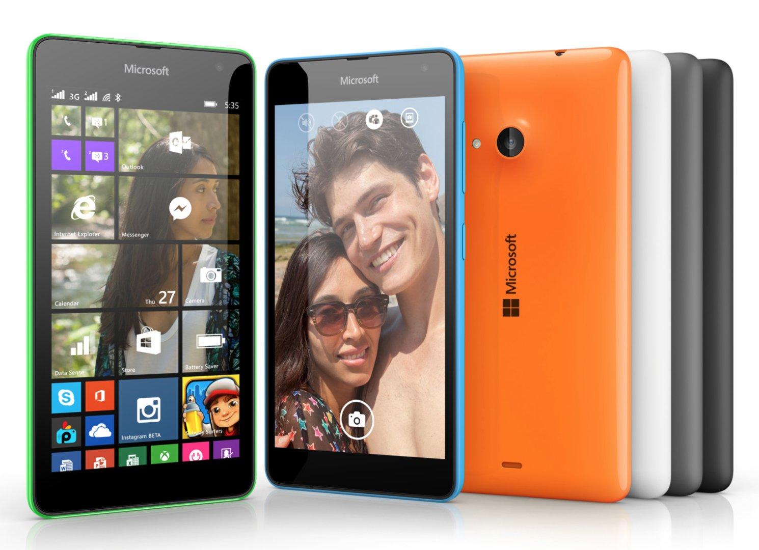 Auch das Lumia 535 gibt es in verschiedenen Farben
