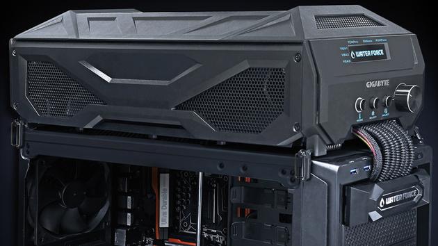 Gigabyte WaterForce Tri-SLI: AiO-Wasserkühlung mit drei GeForce GTX 980
