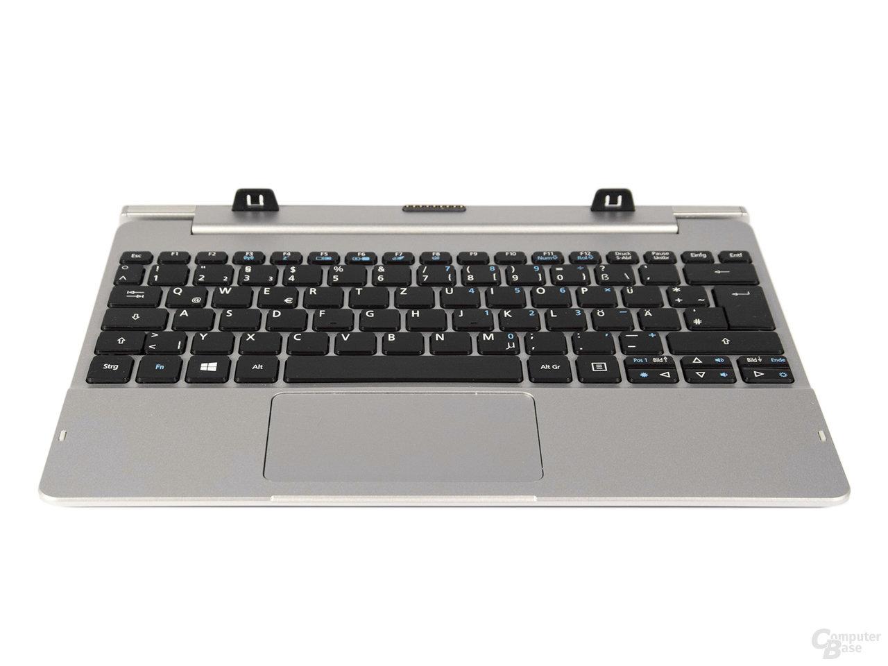 Die Tastatureinheit des Acer Aspire Switch 10 FHD reicht zum gelegentlichen Schreiben