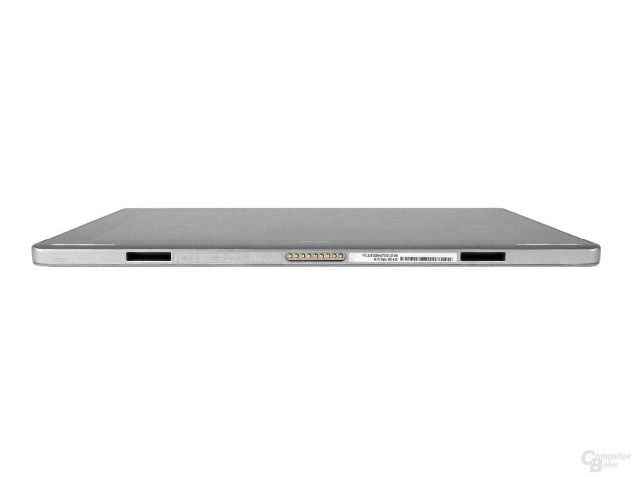 Tastatur-Anschlüsse beim Display des Acer Aspire Switch 10 FHD