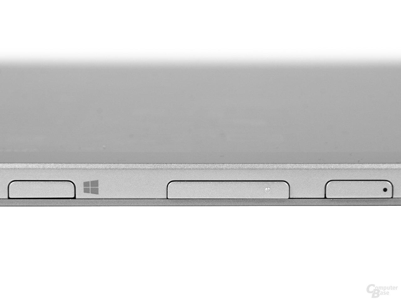 Stabile Bedienelemente beim Acer Aspire Switch 10 FHD