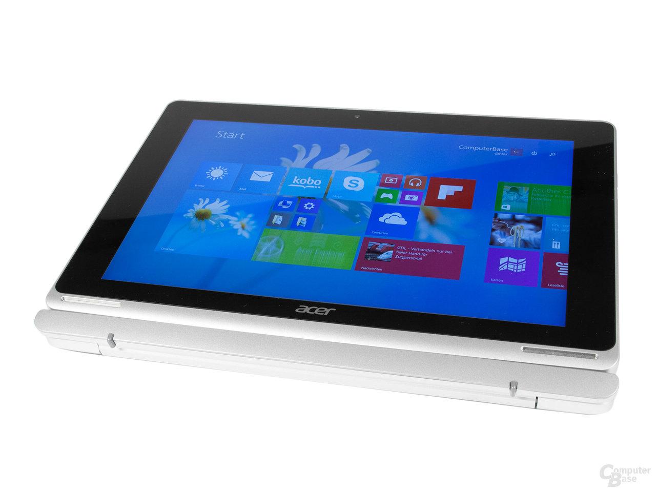 Das HD-Display des Acer Aspire Switch 10 FHD