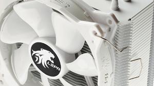 Lepa LV12: Prozessorkühler für schneeweiße PC-Systeme