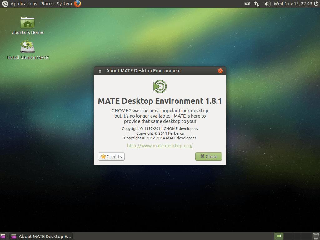 Ubuntu Mate 14.04.1 LTS