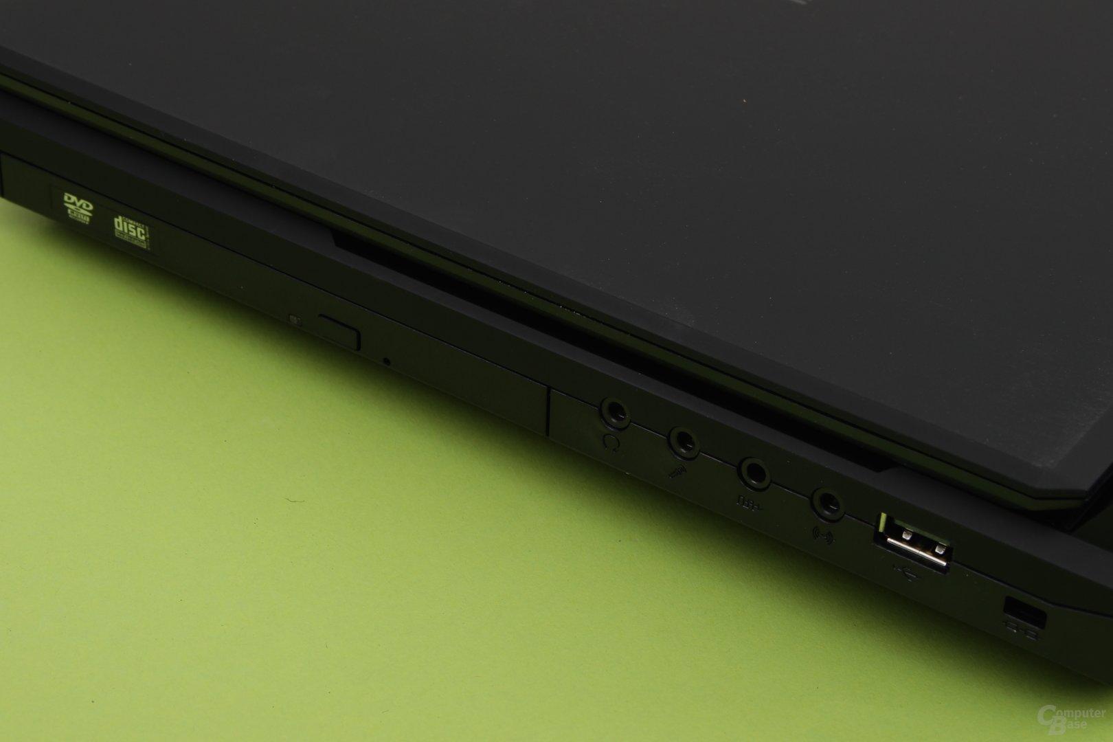 Schenker XMG P504 Pro – Blu-ray-Laufwerk