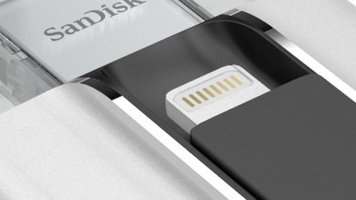 SanDisk iXpand: Medienspielender Datenträger für iPhone und iPad