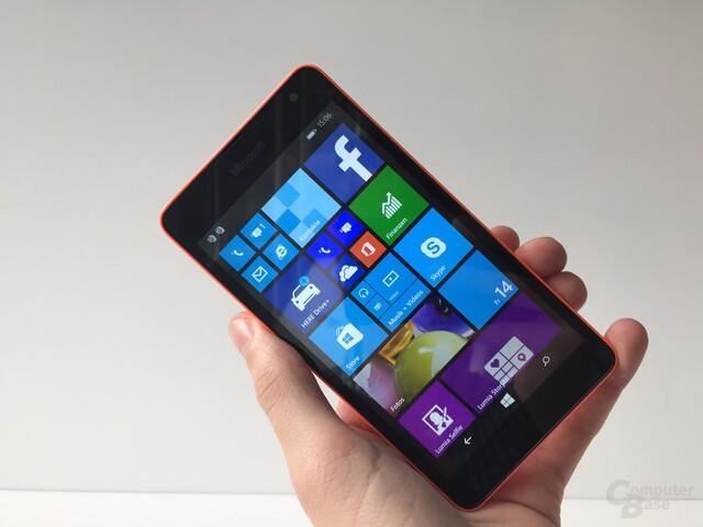 Erste Eindrücke zum Microsoft Lumia 535