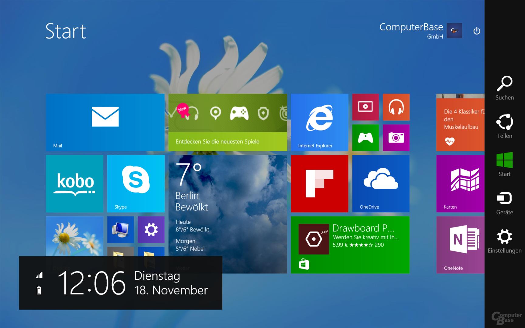 Acer Aspire Switch 10 FHD – Modern UI