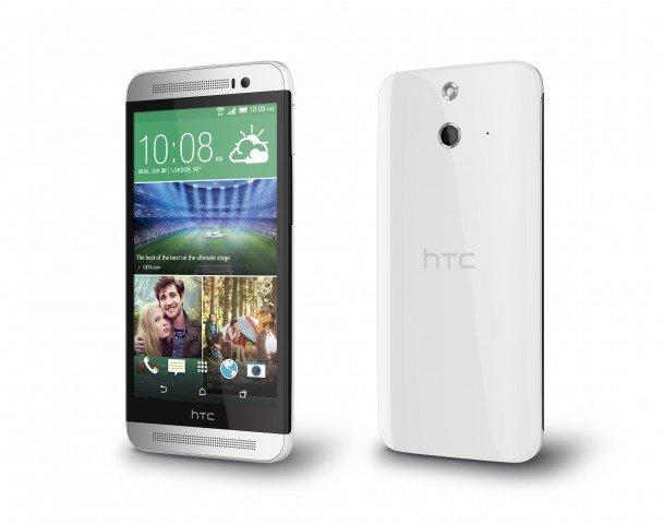 HTC One (E8) – Vorder- und Rückseite
