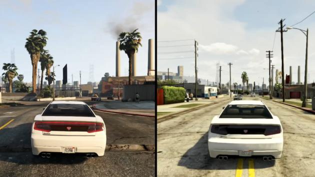 GTA V: Grafikvergleich zwischen PS4 und PS3