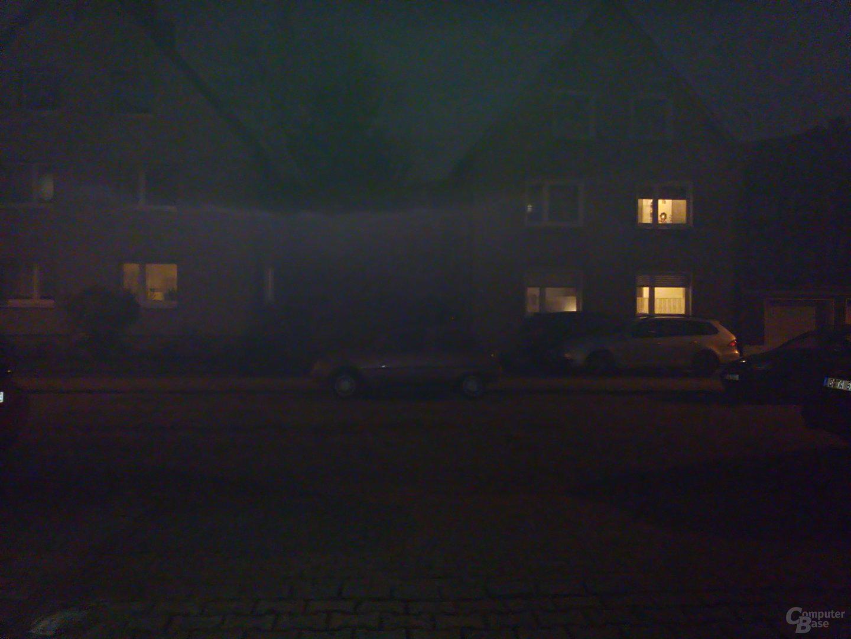 Acer Liquid Jade Plus im Test – Nachtaufnahme mit LED