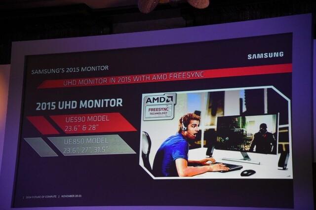 Freesync mit Ultra HD von Samsung ab März 2015