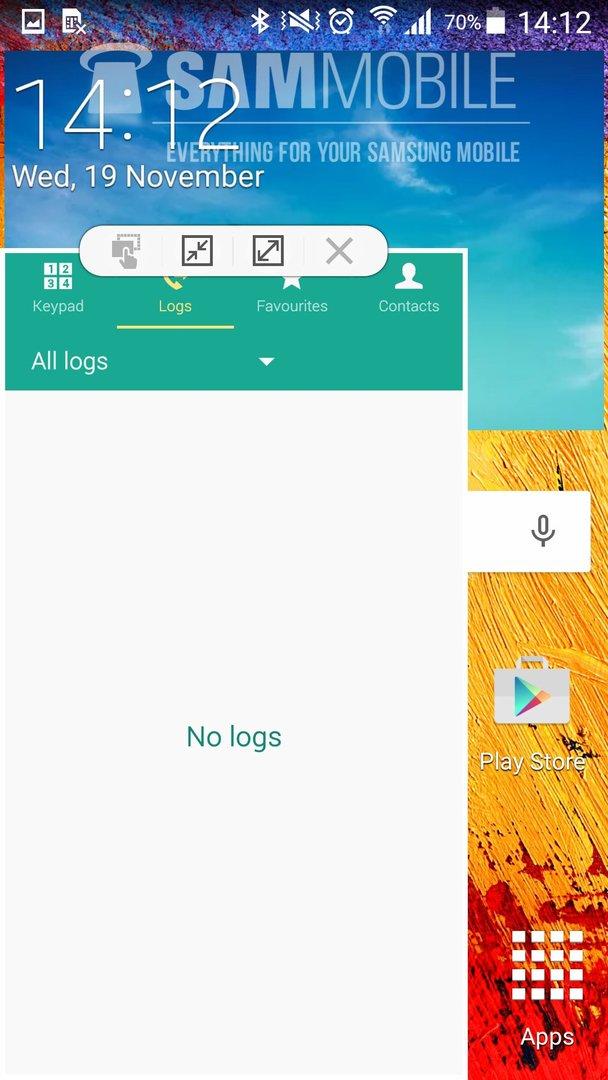 Android 5.0 auf dem Samsung Galaxy Note 3