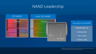 Intels 3D NAND mit 32 Lagen