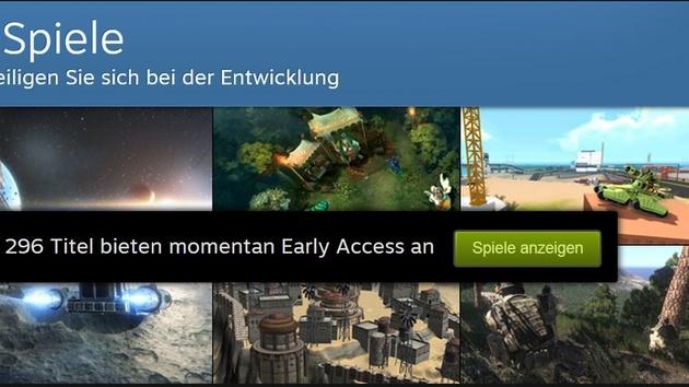 Early Access: Valve verschärft Regeln für den frühen Zugriff