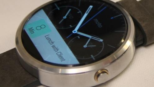 """Smartwatch: Die zweite Moto 360 soll """"mehr wie eine Uhr"""" aussehen"""