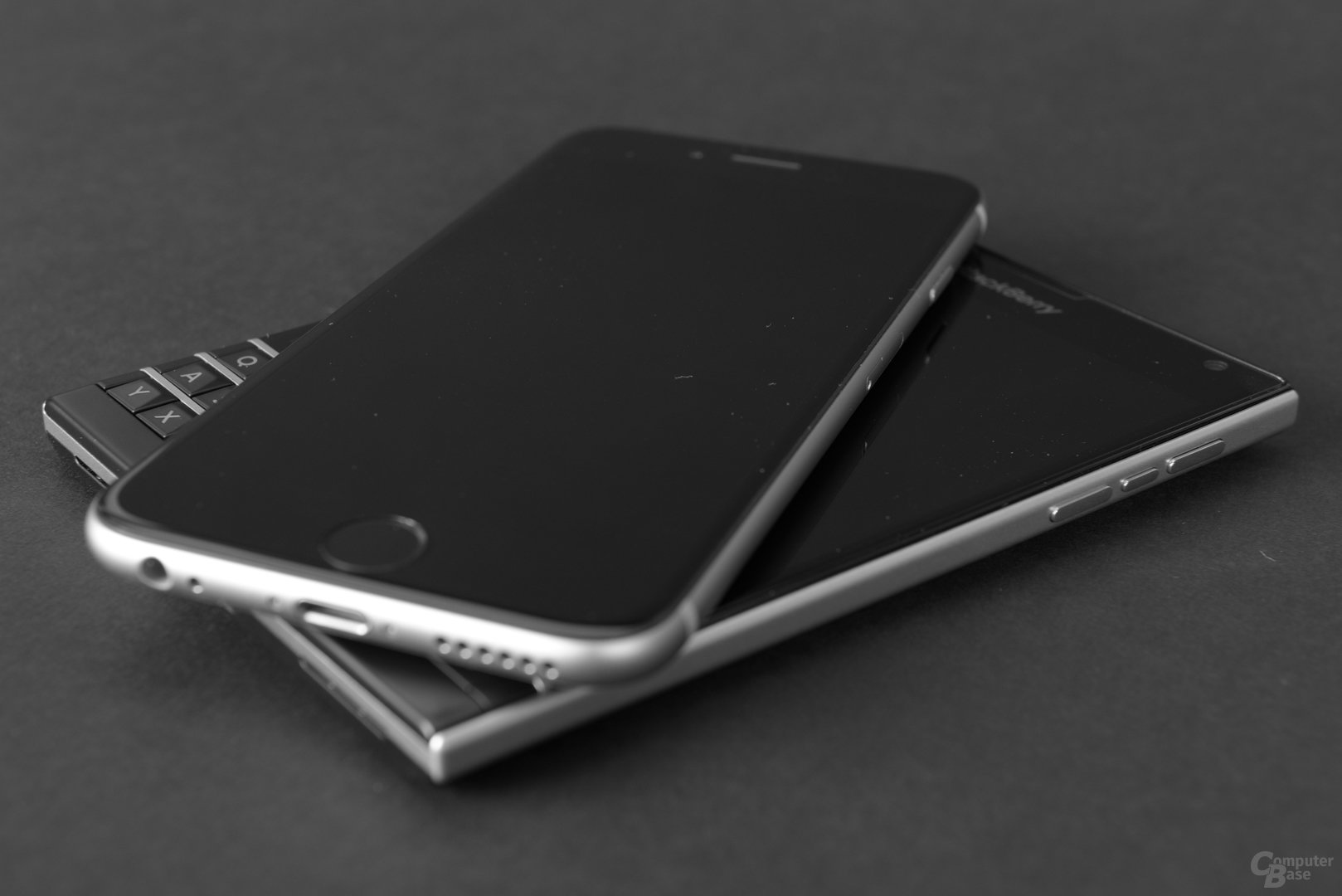 Das BlackBerry Passport und das iPhone 6