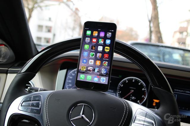 Die Car Connectivity von Mercedes-Benz gefällt, geht aber noch nicht weit genug