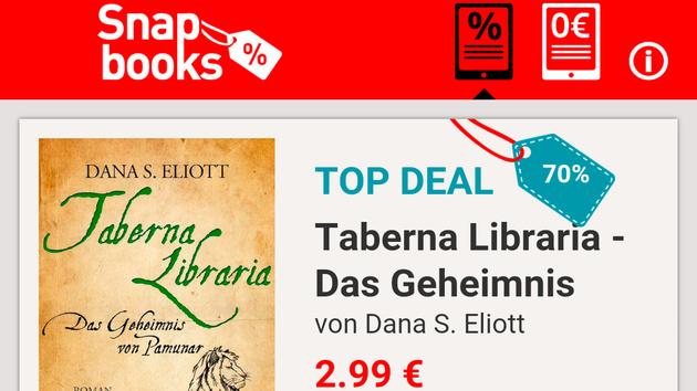 E-Book-Preisaktionen: Snapbooks zeigt Angebote von Droemer Knaur an