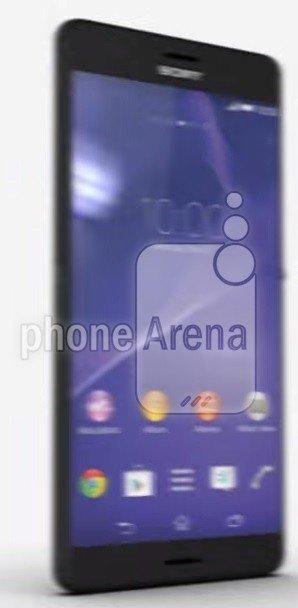 Sony Xperia Z4 – Front
