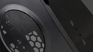 Spire: Micro-ATX-Gehäuse in ITX-Größen