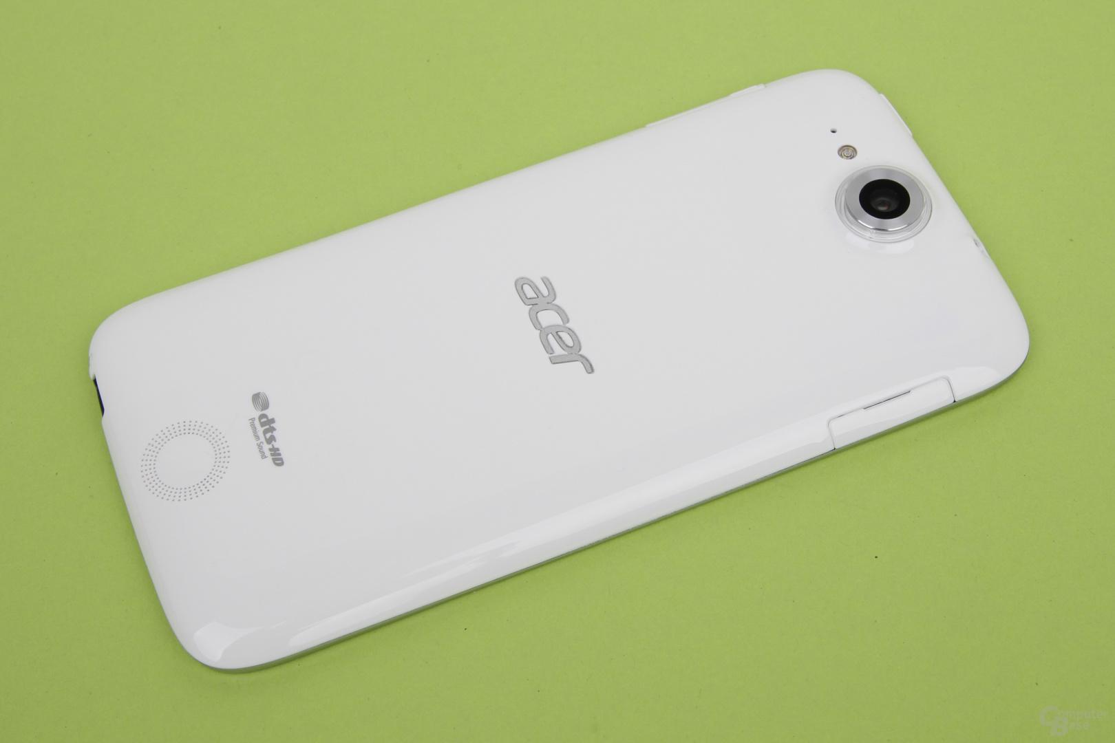 Rückseite des Acer Liquid Jade Plus