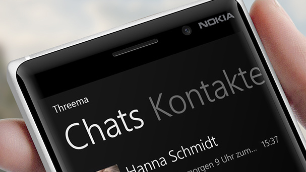 Threema: Messenger mit Verschlüsselung für Windows Phone