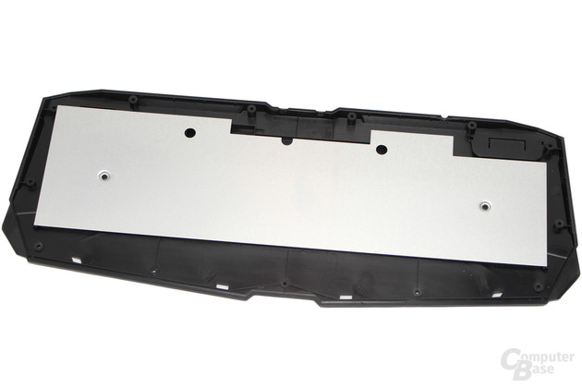 Force K7: Die Unterschale wird durch eine verschraubte Metalplatte stabilisiert