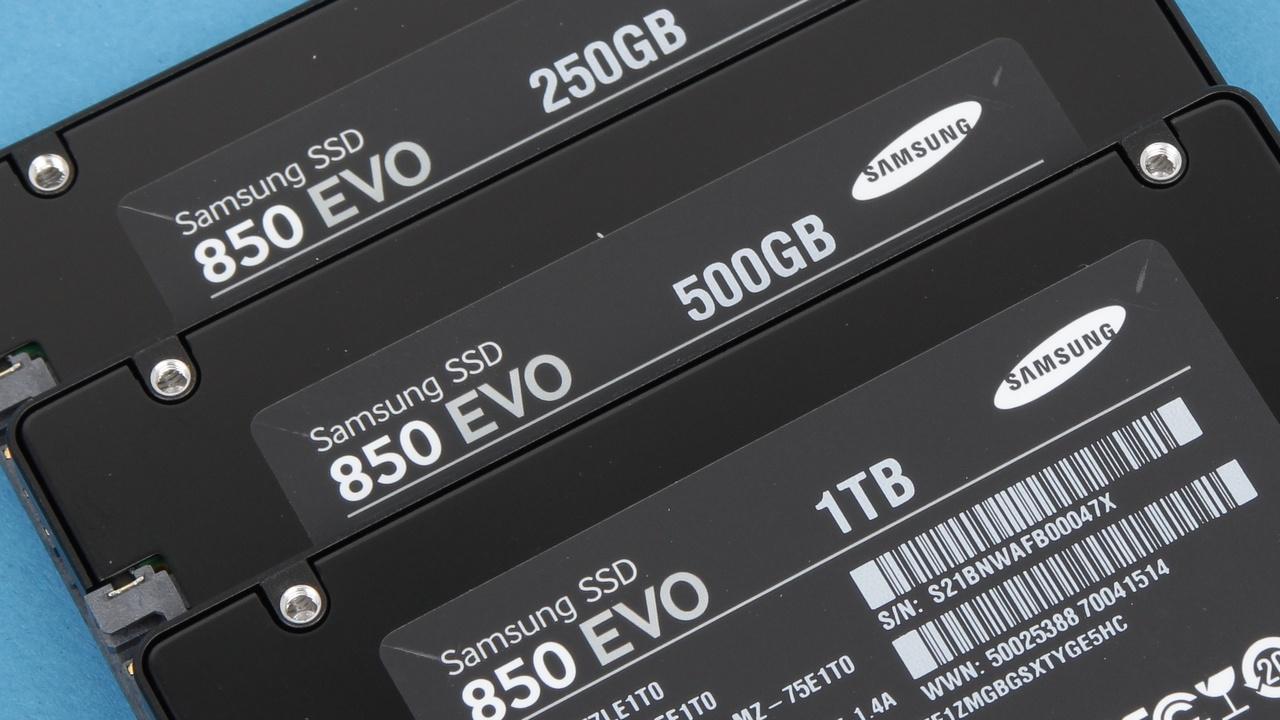 Samsung 850 Evo im Test: SSD mit gestapeltem 3DNAND und MGX-Controller