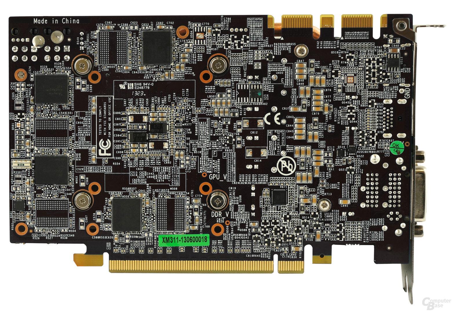 Galax GeForce GTX 970 Gamer OC – Rückseite