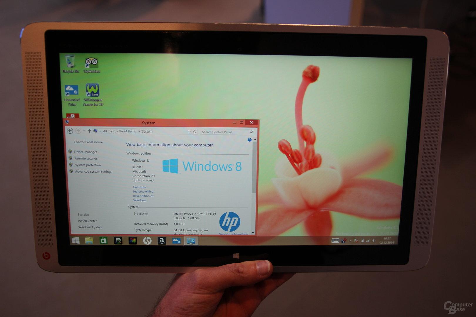HP Envy 13 mit Intel Core M – quer