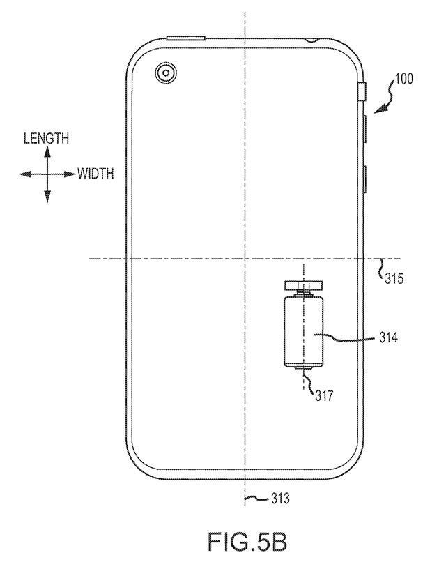 Vibrationsmotor zur Lageänderung des Smartphones