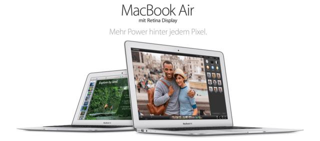 Apple MacBook Air mit Retina-Display: Wo bleibt es?
