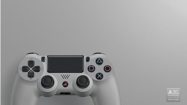 Graue PlayStation 4: Retro-Design zum 20. Jubiläum der Spielkonsole